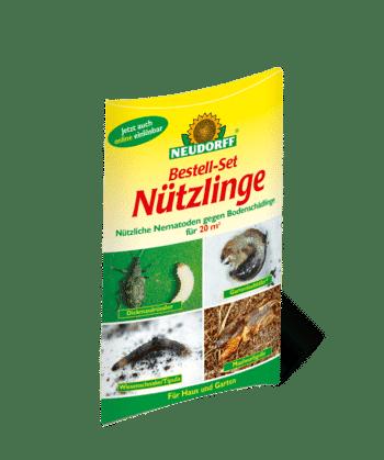 Nematoden gegen Dickmaulrüssler und Wiesenschnake
