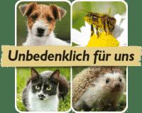 unbedenklich für Tiere